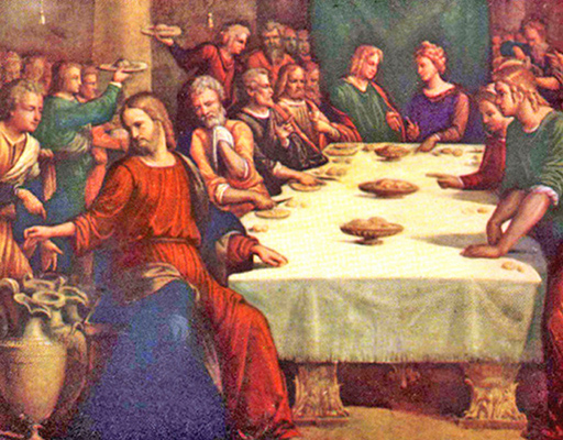 Garofalo - The Marriage Feast at Cana, Rome, 1531.