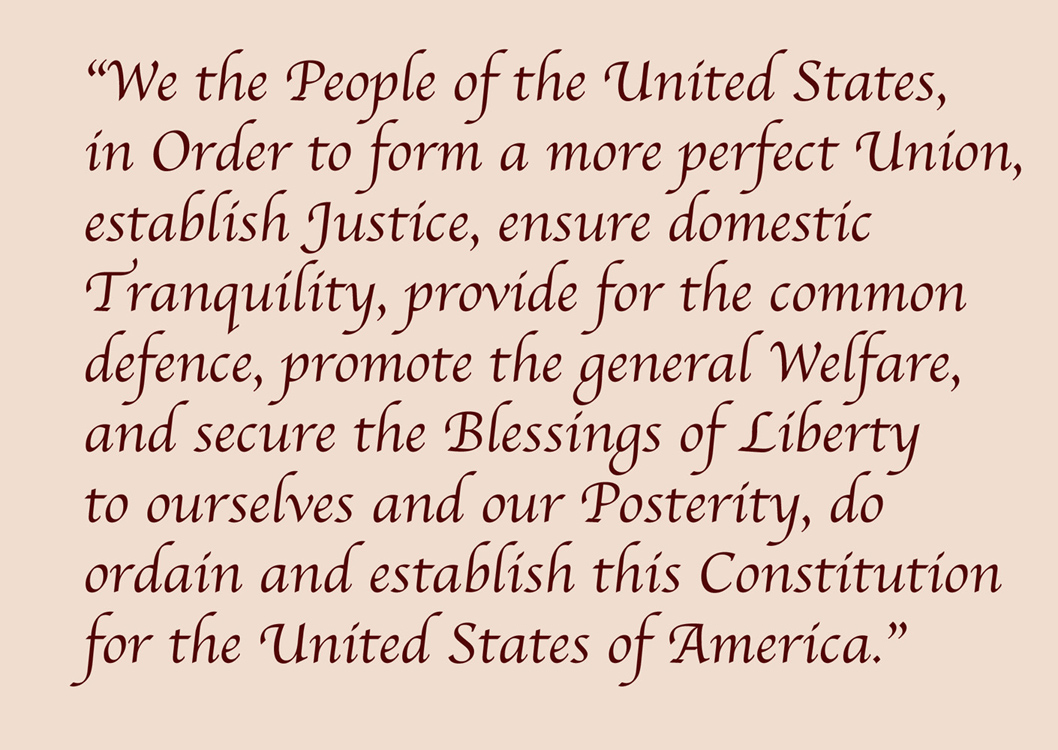 The Constitution of the United States of America, September 17, 1787.