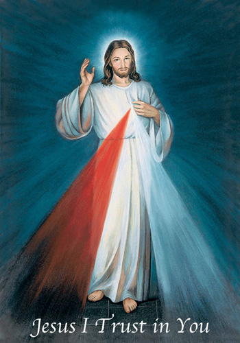 The Divine Mercy of Jesus.