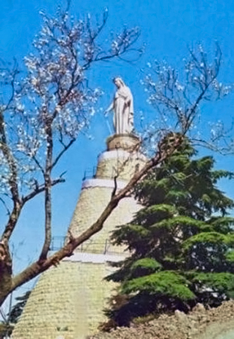 Basilica of Our Lady of Lebanon, Harissa, Lebanon.