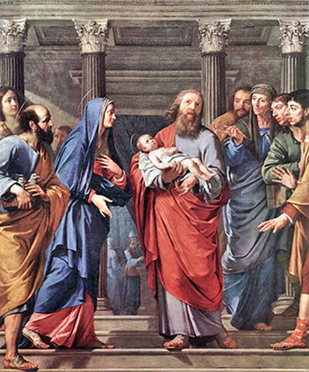 Philippe de Champaigne - The Presentation of Jesus in the Temple, Musées Royaux des Beaux-Arts, Brussels, 1648.