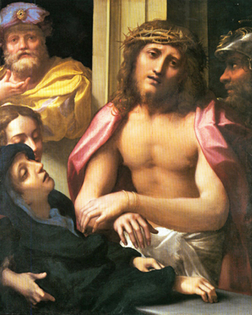 Antonio Allegri, known as Correggio - Jesus Crowned with Thorns, National Gallery, London, 1525.